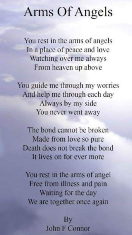 J. F. Connor - Arms of Angels Poem