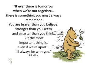 A. A. Milne - from Winnie The Pooh